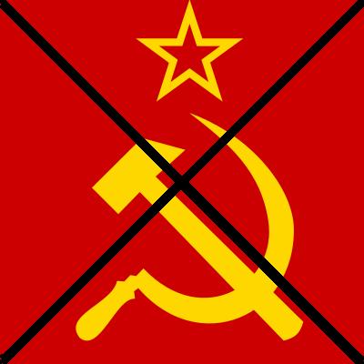 Anti-Soviet Union symbol - Daemorris, Wikimedia Commons