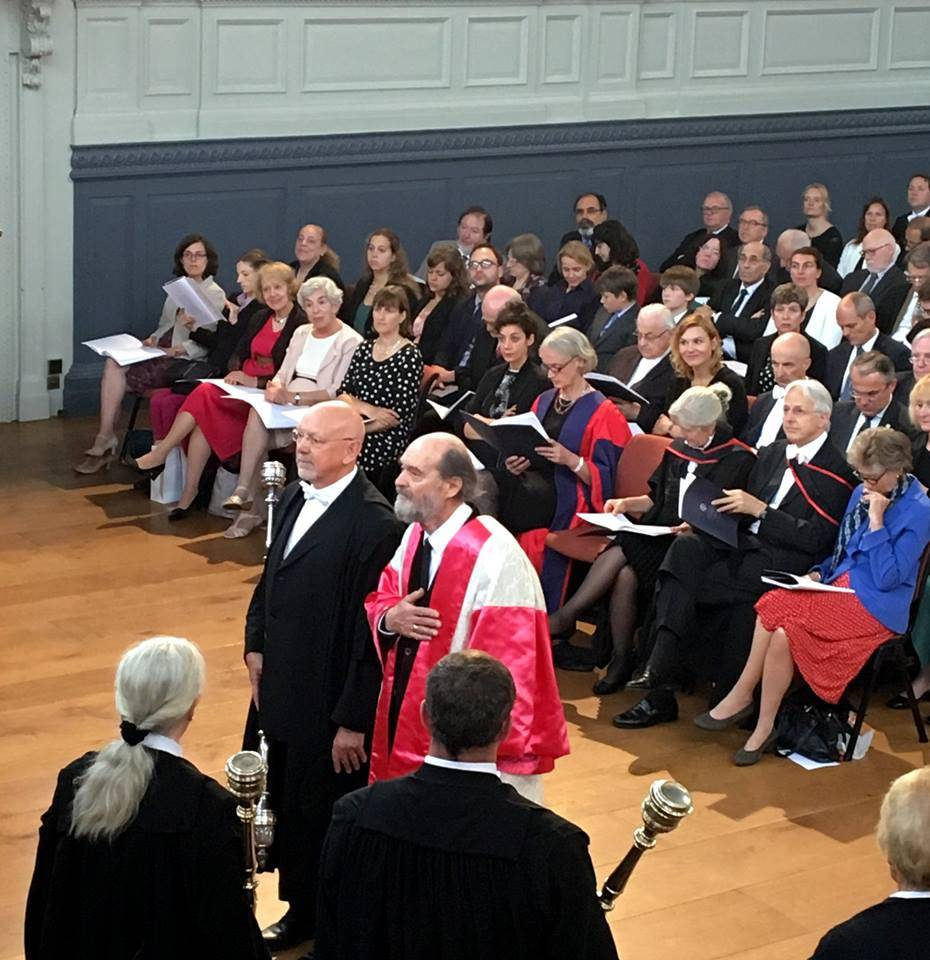 Arvo Pärt receives honorary degree from Oxford University IV
