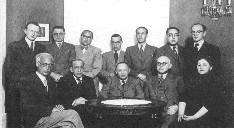 Juudi kultuurin�ukogu 1930date keskpaigas.