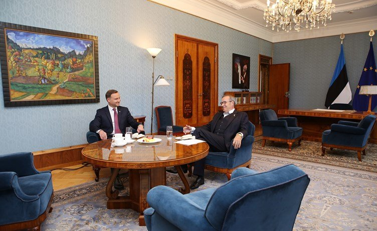 Polish president Duda visiting Estonia in August 2015 - Birgit Püve