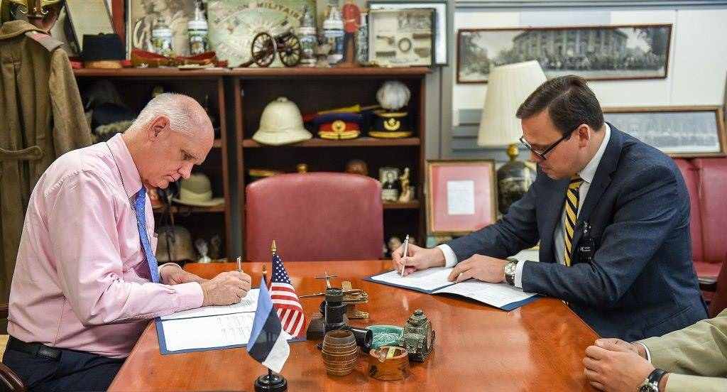 US and Estonia defence research agreement