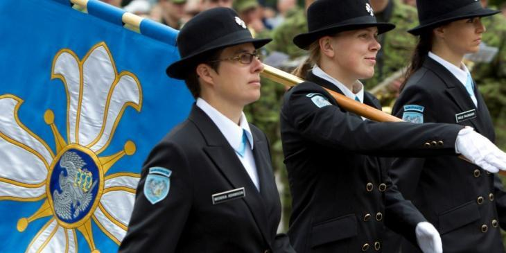 Victory Day parade in 2011 - Defence Forces