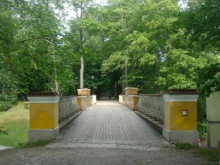 A bridge in Toome Hill