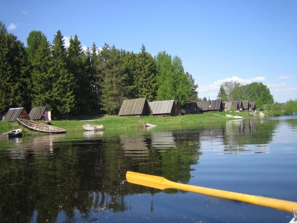 Rannapungerja Village on the shores of Lake Peipus - Maasaak (Wikimedia Commons)