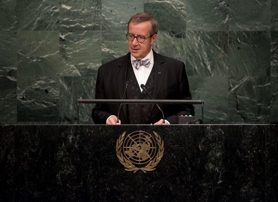 Toomas Hendrik Ilves  (UN-Kim Haughton)