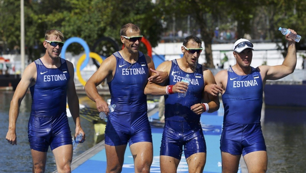 Andrei Jämsä, Allar Raja, Tõnu Endrekson and Kaspar Taimsoo earned a bronze medal in Rio - Reuters