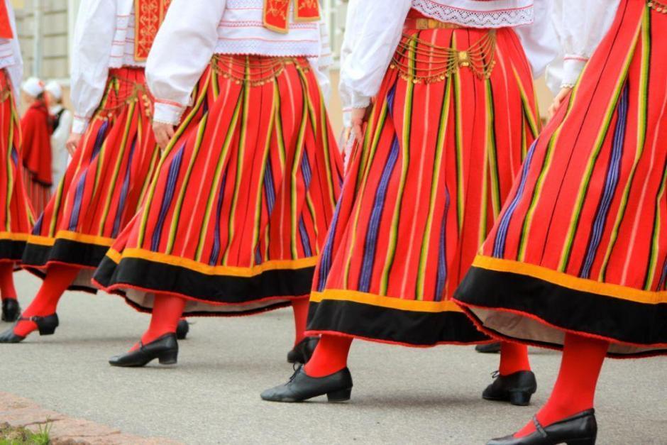 Fold dance tradition in Estonia - Photo by Katrin Winter