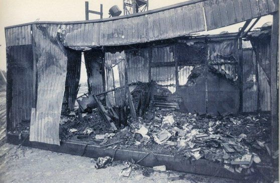 Ikla border control point after the attack on 14 June 1991