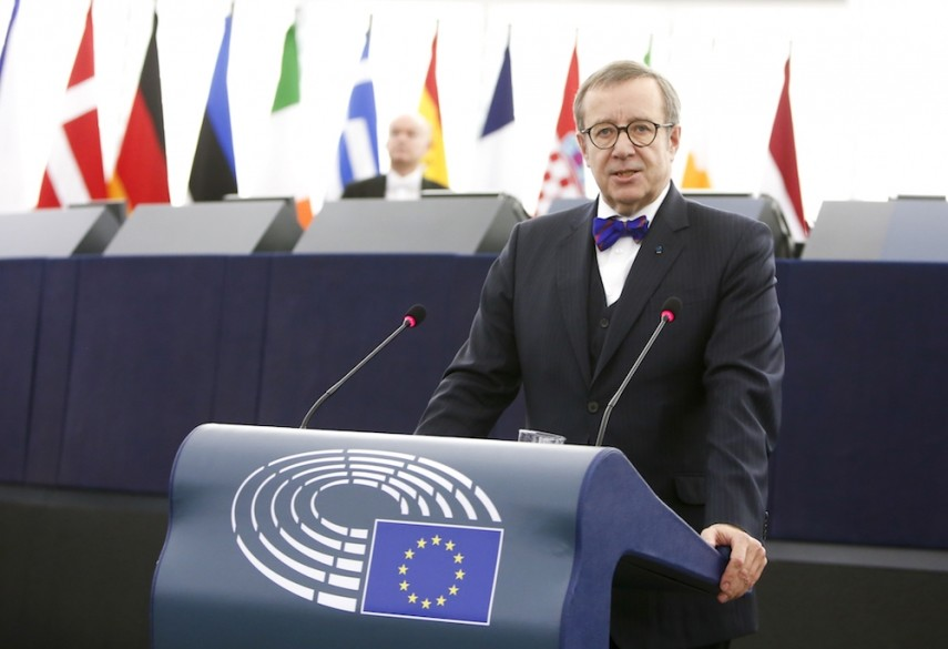Ilves - Photo by Marc Dossmann (European Parliament)
