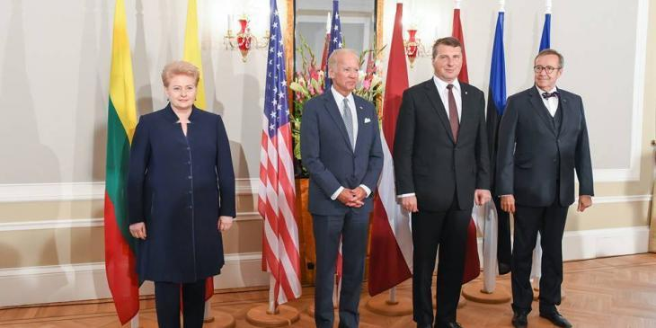 Joe Biden in Riga. Photo by Robertas Dačkus, Office of President of Lithuania
