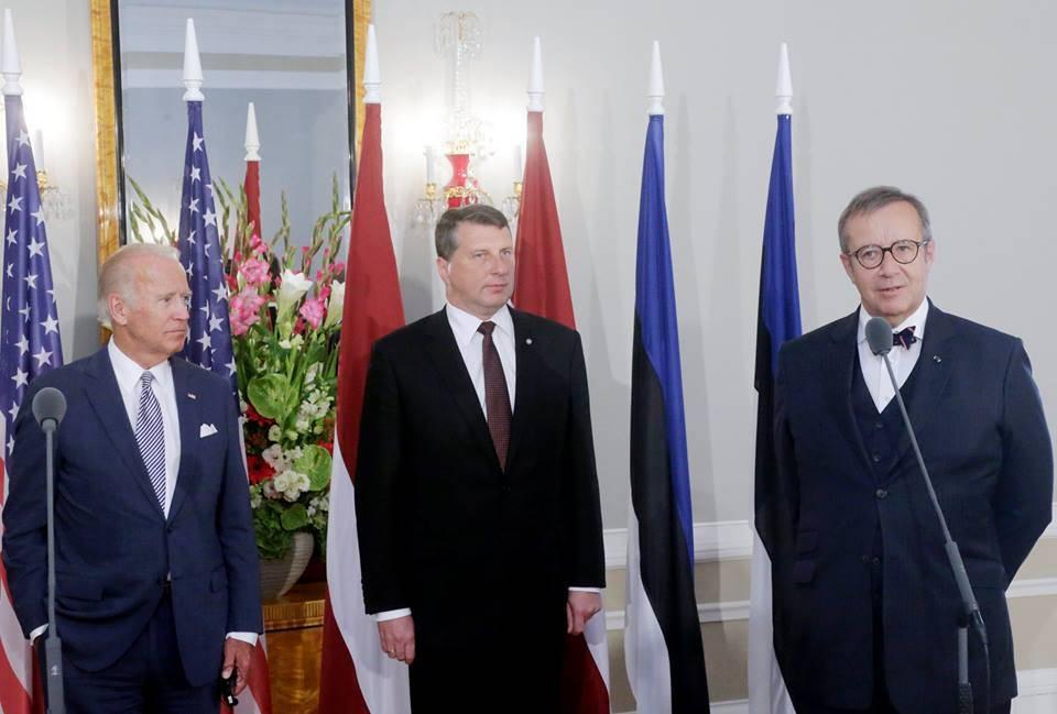 Joe Biden in Riga. Photo by the Office of President of Latvia