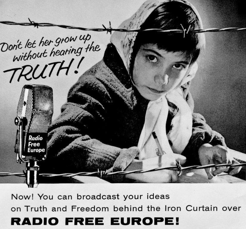 Radio Free Europe poster