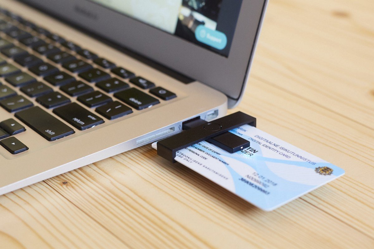 Most government services can be accessed online via a secure ID card.