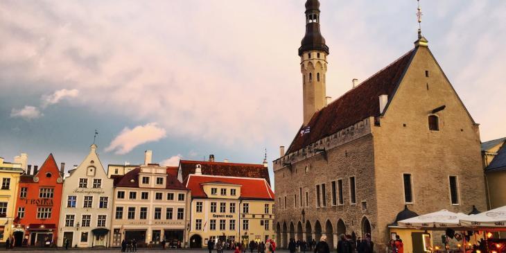 Tallinn City Hall.