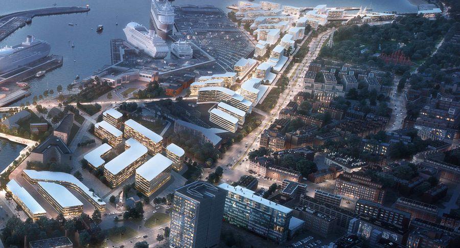 zaha hadid architects to redesign tallinn u2019s old city harbour