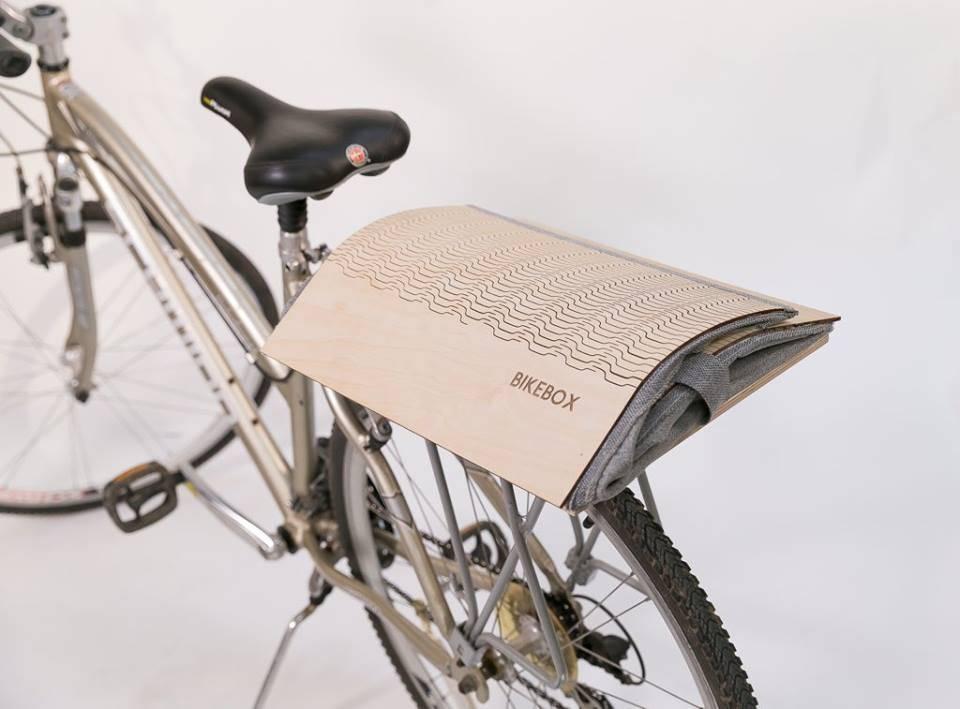 An Estonian Startup Creates A Foldable Wooden Bike Basket