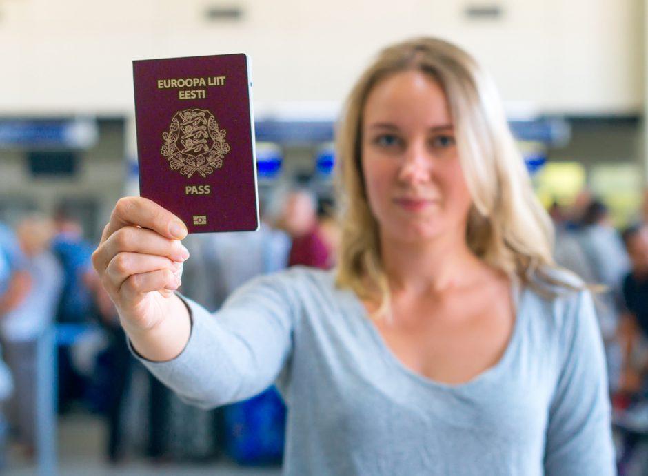 how to get estonian passport