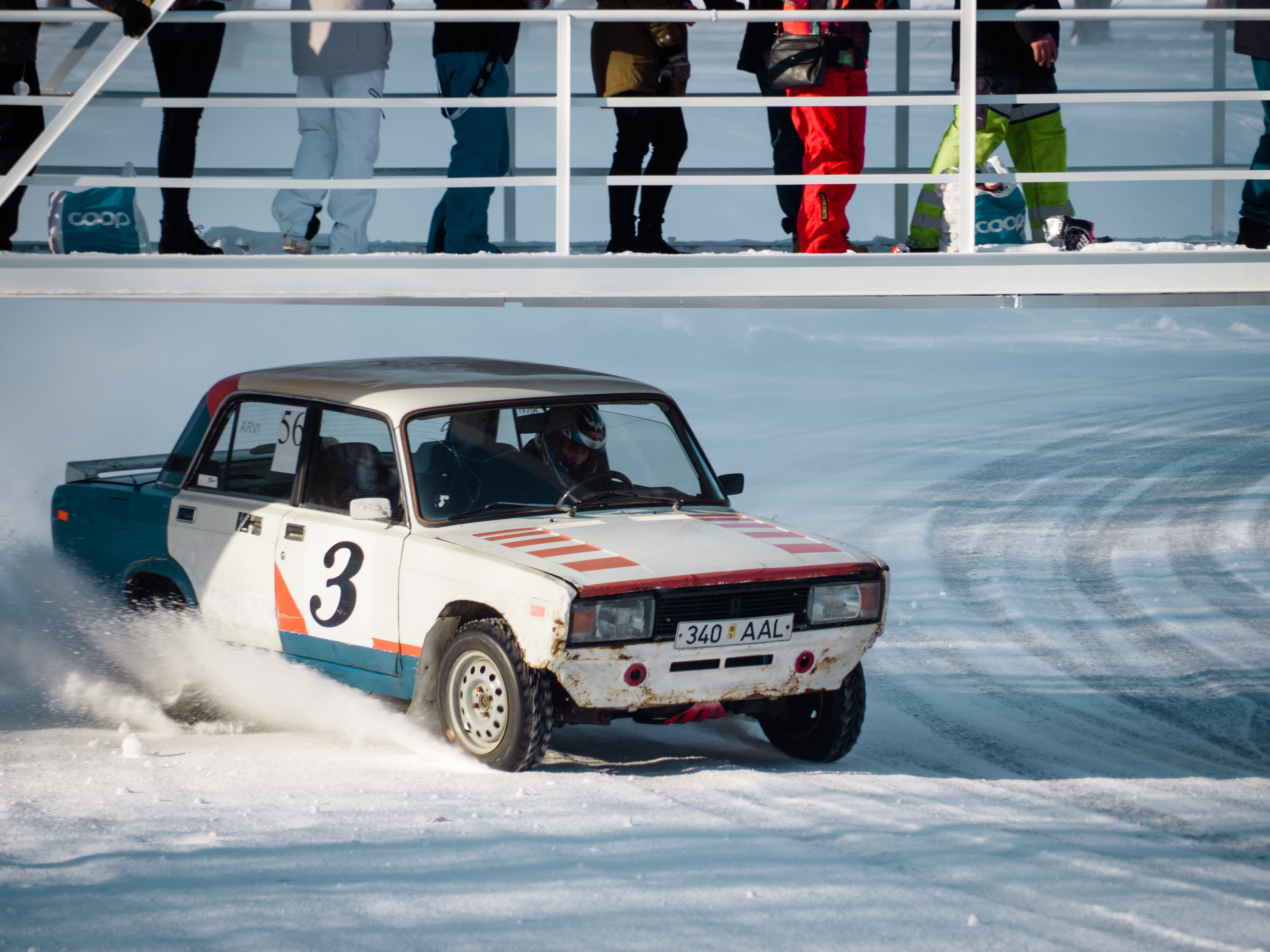 This Lada even has racing livery!