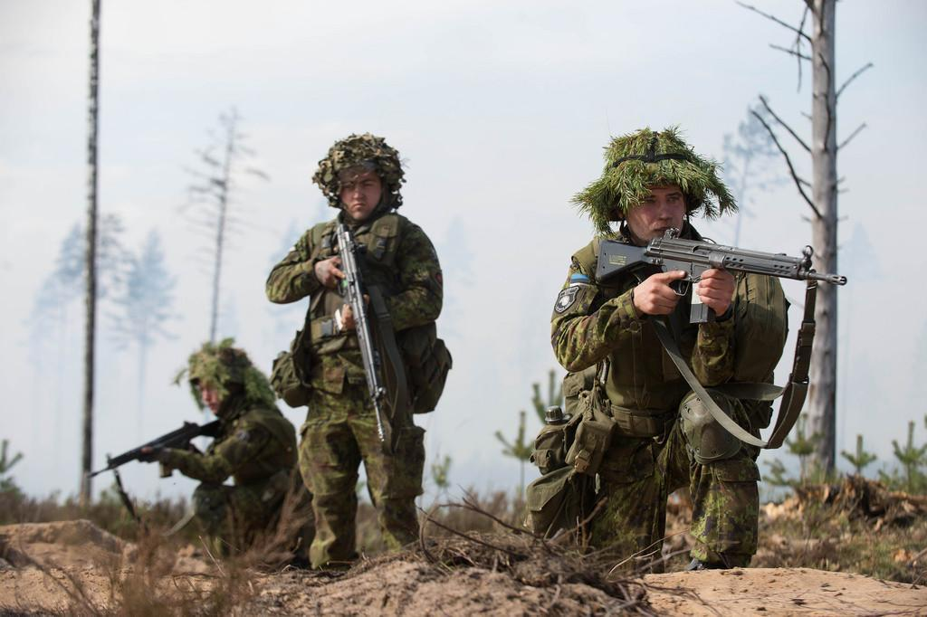 Estonia to hold a military exercise involving reservists and conscripts