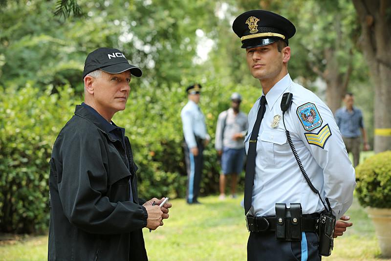 Johann Urb in NCIS with Mark Harmon.