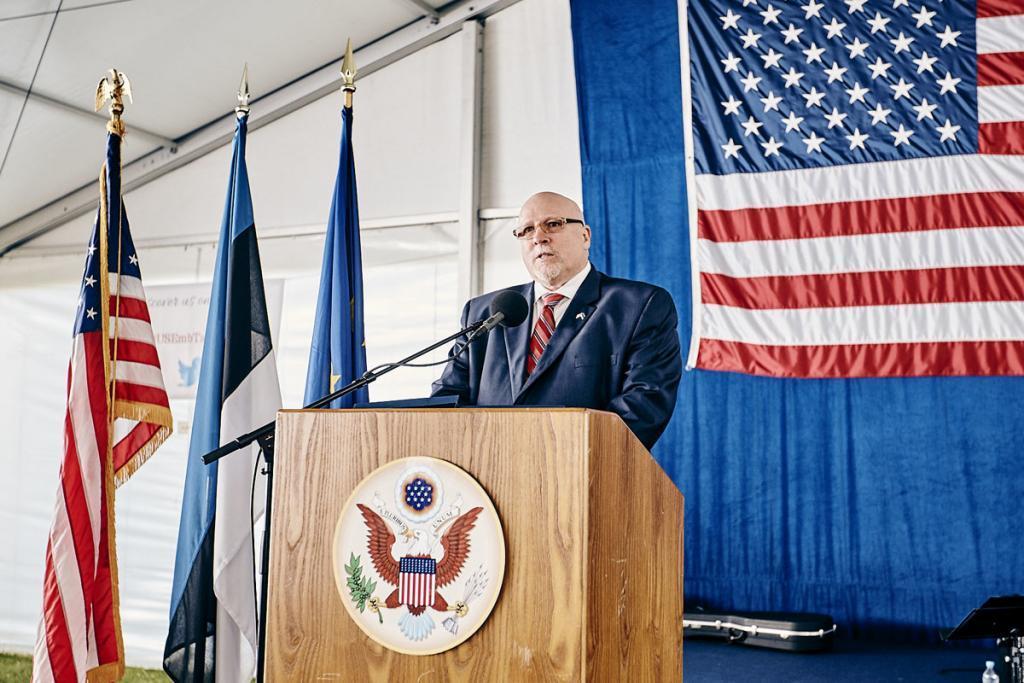 James D Melville. Photo: US embassy in Estonia