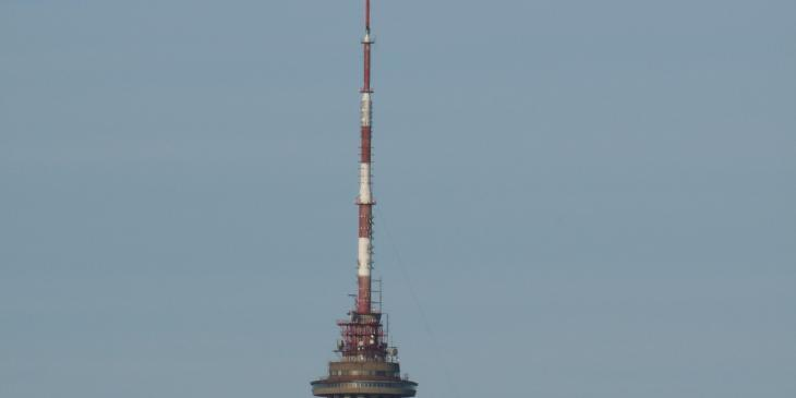 The Tallinn TV tower.