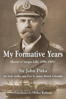 My Formative Years John Pitka book full cover