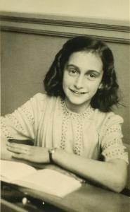 Anne Frank school photo