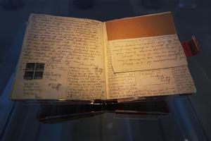 Anne Frank's diary original