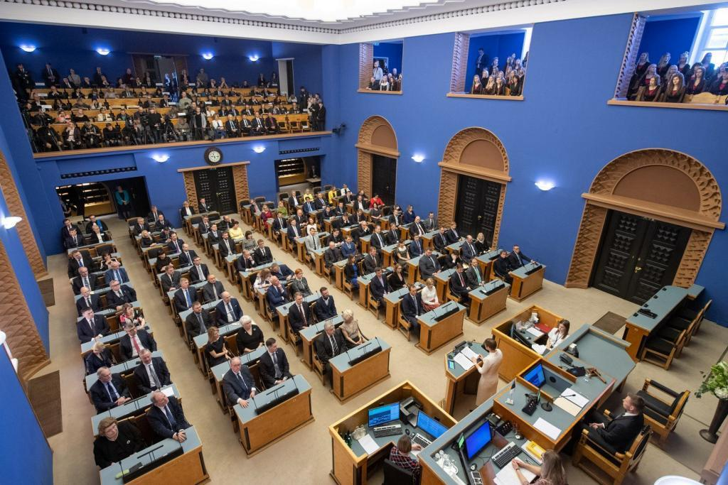 The opening session of the 14th Riigikogu. Photo by Erik Peinar.