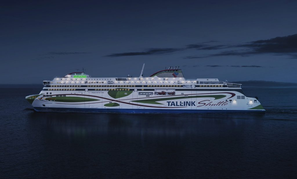 The Megastar, Tallink's shuttle ship that cruises between Tallinn and Helsinki. Photo: the Tallink Facebook page.