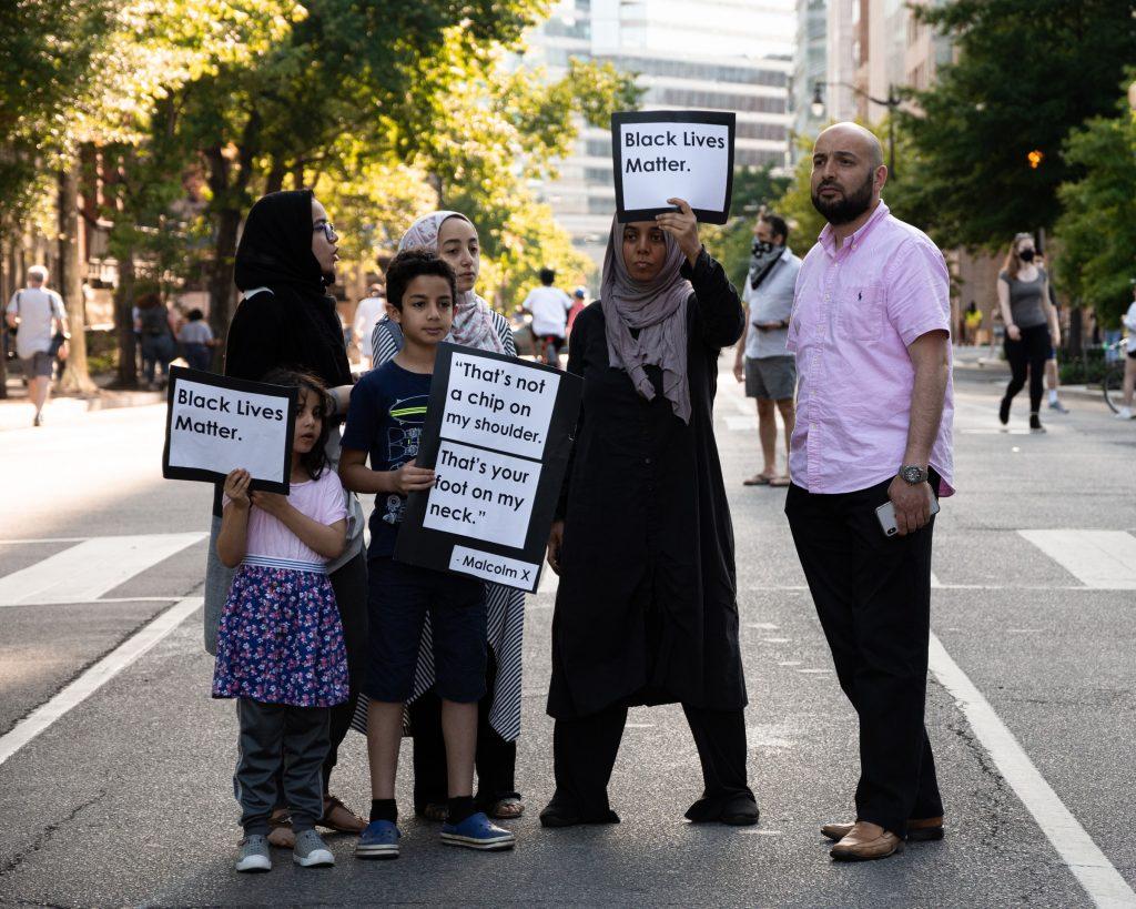 A Black Lives Matter protest in Washington, DC, on 1 June 2020. Photo by Koshu Kunii on Unsplash.