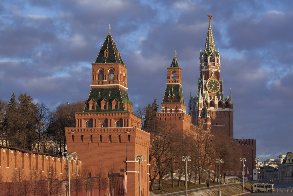 The towers of the Kremlin. Photo by Ivan Krylov, shared under the CC BY-SA 4.0 licence.