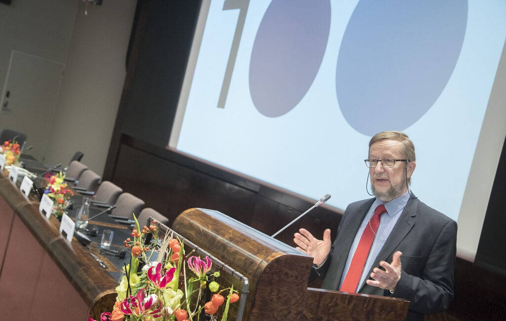 Estonia's former ambassador to Finland, Harri Tiido. Photo by Mauri Ratilainen, the Finnish parliament.