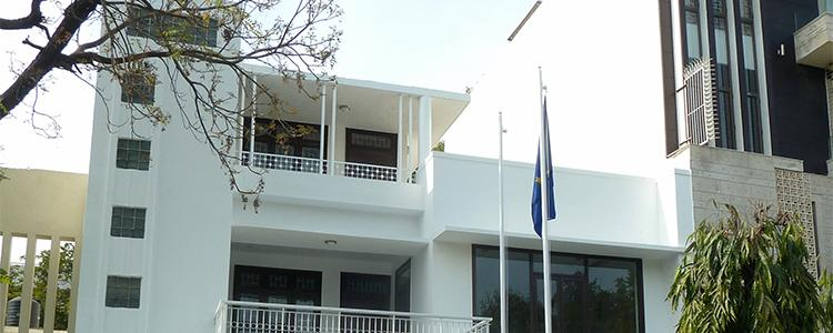 The Estonian embassy in New Delhi. Photo: the embassy website.