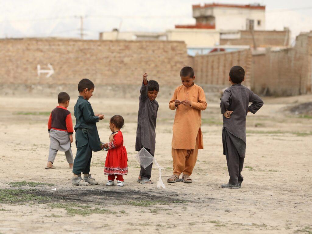 Afghani children in Kabul. Photo by Sohaib Ghyasi on Unsplash.
